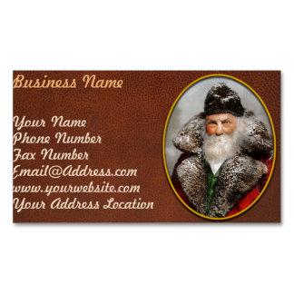 Christmas - Santa - Saint Nicholas 1895 Magnetic Business Cards