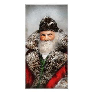 Christmas - Santa - Saint Nicholas 1895 Photo Card
