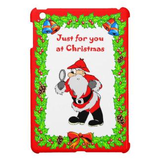 Christmas  Santa Sherlock iPad Mini Cover