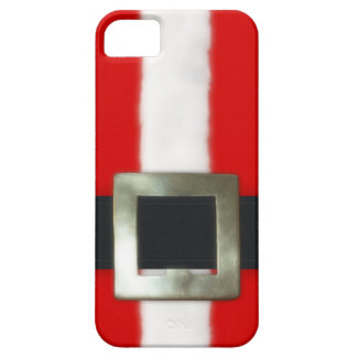 Christmas Santa Suit Barely There iPhone 5 Case