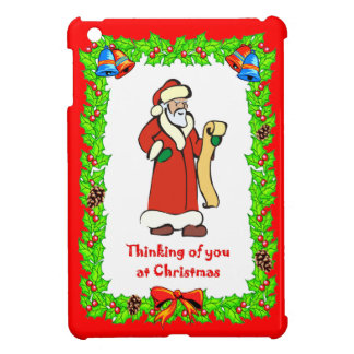 Christmas  Santa's list Case For The iPad Mini