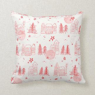 Christmas Scene Pillow