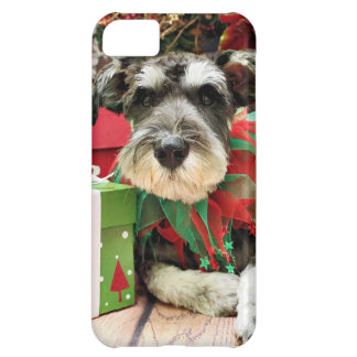 Christmas - Schnauzer - Joey Cover For iPhone 5C