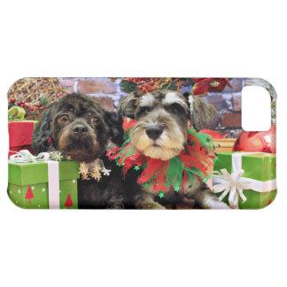 Christmas - Schnauzer Joey - ShihChon Oscar iPhone 5C Covers