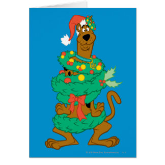 Christmas Scooby Card