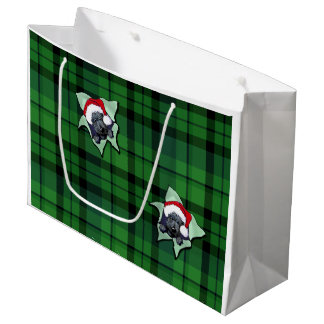 Christmas Scottie BLAST Gift Bag