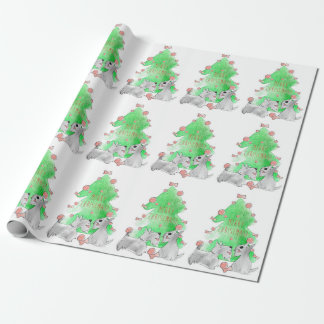 Christmas Scotties Wrapping Paper