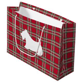 Christmas Scottish Terrier Gift Bag