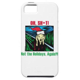 Christmas Scream iPhone 5 Cases
