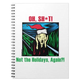 Christmas Scream Notebook