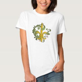 Christmas Scroll Fleur de lis - Customized Shirt