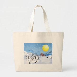 Christmas Season Jumbo Tote Bag