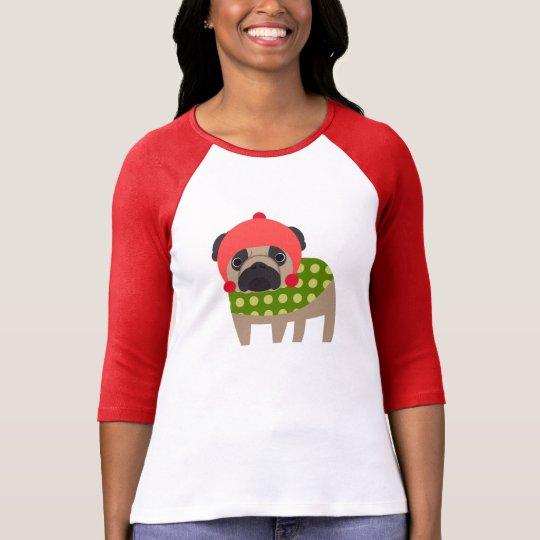 Christmas Season Pug T-Shirt