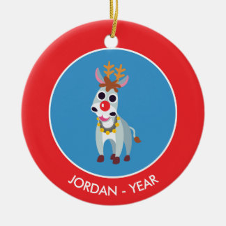 Christmas Shane the Donkey Christmas Ornament