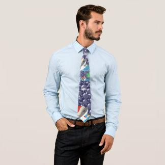 Christmas Shark Tie