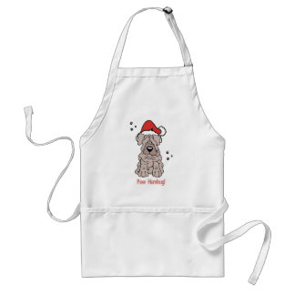 Christmas Sharpei Dog Standard Apron