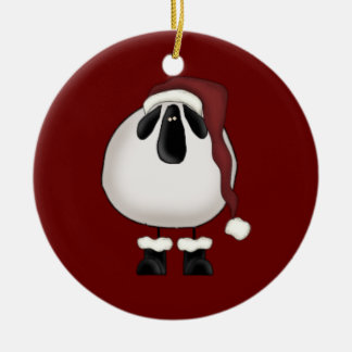 Christmas Sheep Christmas Ornament