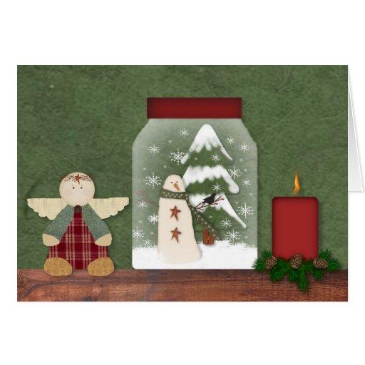 Christmas Shelf Card