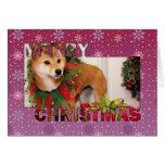 Christmas - Shiba Inu Photocard