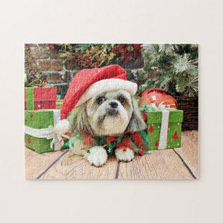 Christmas - Shih Tzu - Gizmo Puzzle