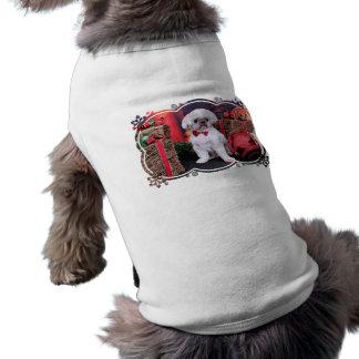 Christmas - Shih Tzu - Kobe Doggie T-shirt