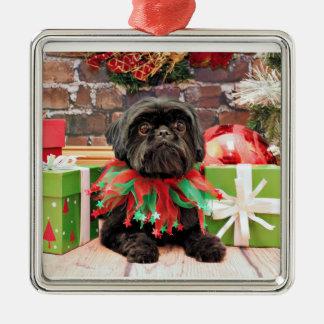 Christmas - Shih Tzu - Lily Christmas Ornament