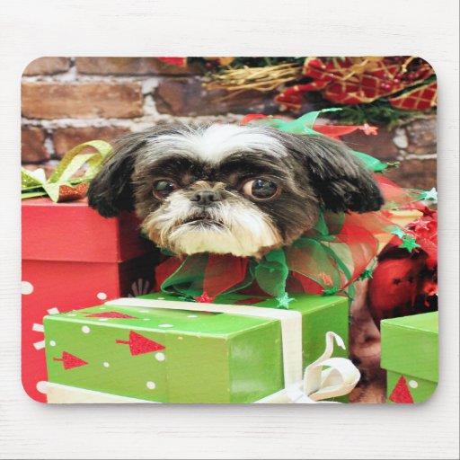 Christmas - Shih Tzu - Yogi Mouse Pad