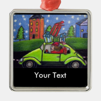 Christmas Shopping Car Gifts Christmas Ornament