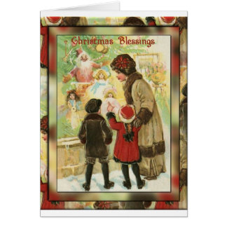 Christmas Shopping Card