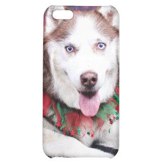 Christmas - Siberian Husky - Buddy Cover For iPhone 5C