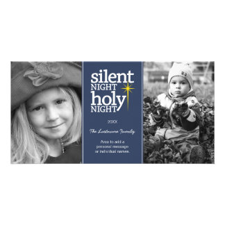 Christmas - Silent Night Holy Night - Picture Card