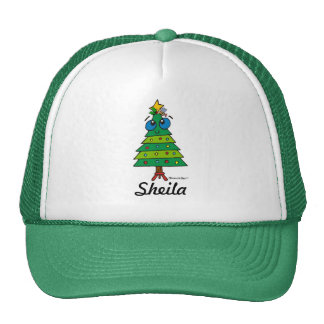 Christmas: Silly Tree Mesh Hat