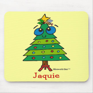 Christmas Silly Tree Mousepads