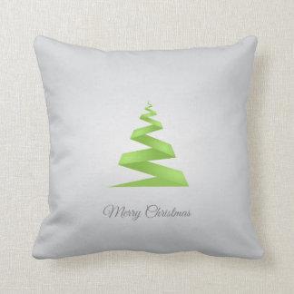 Christmas Simple Ribbon Christmas Tree Cushion
