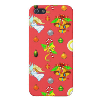Christmas - Singing Angels & Golden Bells Covers For iPhone 5