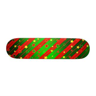 Christmas 21.6 Cm Old School Skateboard Deck