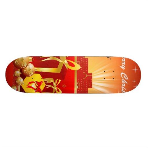 Christmas Skate Deck