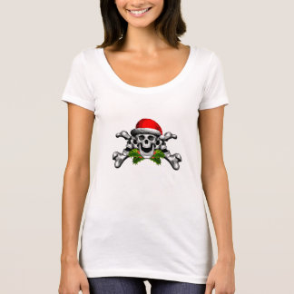 Christmas Skull and Crossbones T-Shirt