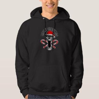 Christmas Skull Hooded Sweatshirts