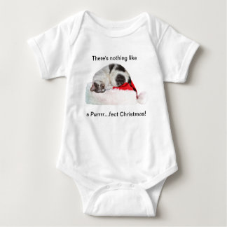 Christmas, Sleeping Cat, Santa Hat T Shirt