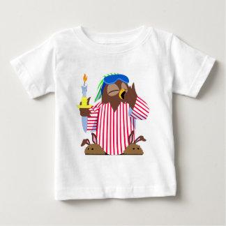 Christmas Sleepy Owl Baby T-Shirt
