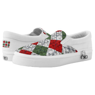 Christmas Slippers Slip On Shoes