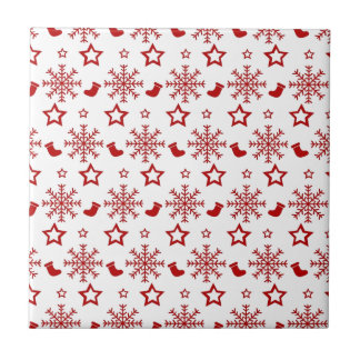 christmas small square tile