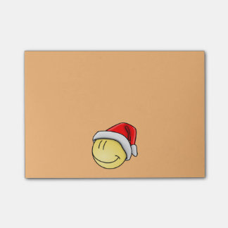 Christmas Smiley Post-it Notes
