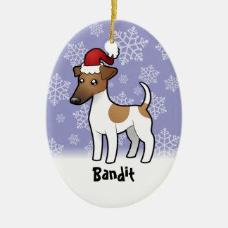 Christmas Smooth Fox Terrier Christmas Ornament