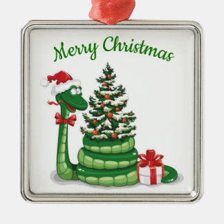 Christmas Snake Christmas Ornament
