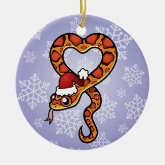 Christmas Snake Christmas Ornament