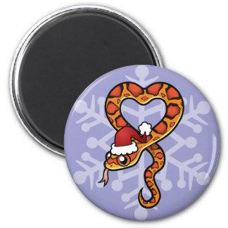 Christmas Snake Magnet
