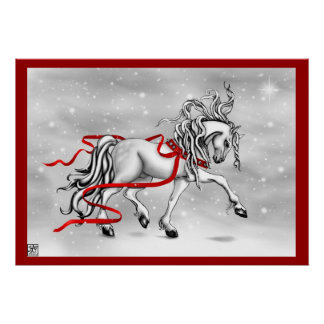 Christmas Snow Bells Posters