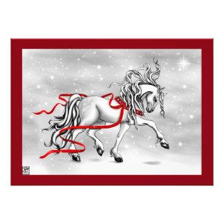 Christmas Snow Bells Print Photographic Print